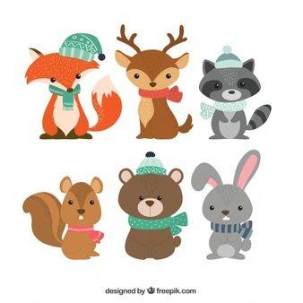 Racas De Caes Colecao Winter Animals Cartoon Animals Animals For Kids