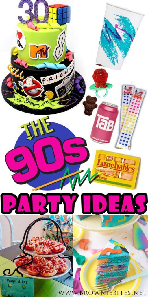 90s Theme Party Ideas