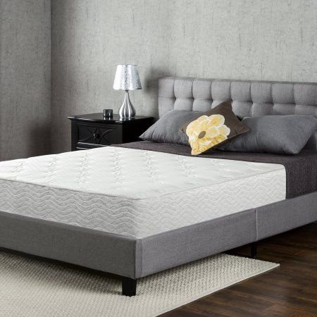 Slumber 1 By Zinus 10 Spring Support Mattress Queen Walmart Com Mattress Comfort Mattress Sleep Revolution