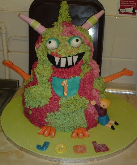This cake was scrummy, but took me 3 days to perfect!!  Joab loved it!