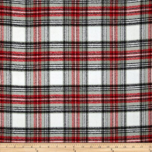 Kaufman Mammoth Flannel Plaid Country Fabric By The Yard