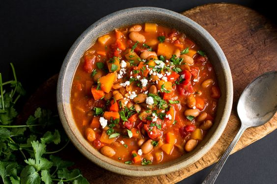 Vegetarian Chili With Winter Vegetables - NYTimes.com