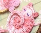 PATTERNS - Darling Kitty - CROCHET PATTERN for Tiny Crocheted Cat Ornament or Applique