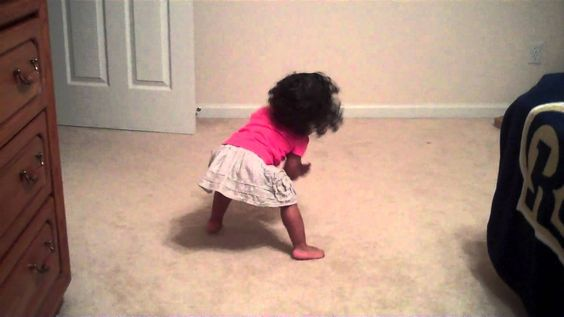 18 month old dancing to her favorite song by Beyonce