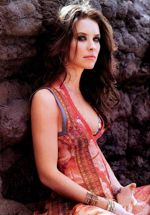 Evangeline Lilly #Boho #Fashion