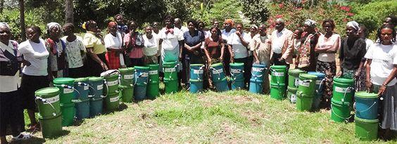 Agua Limpia - Justo África | Filtros Sawyer Agua | Preservar la Vida