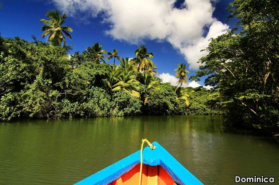 Did you know that Dominica is known as The Land of 365 Rivers? #TravelwithDiane