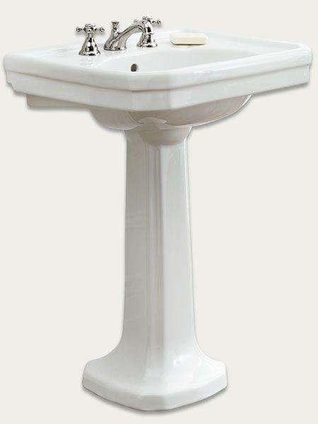 machineries and more pedestal basins faucets pedestal sink sinks 1930s ...