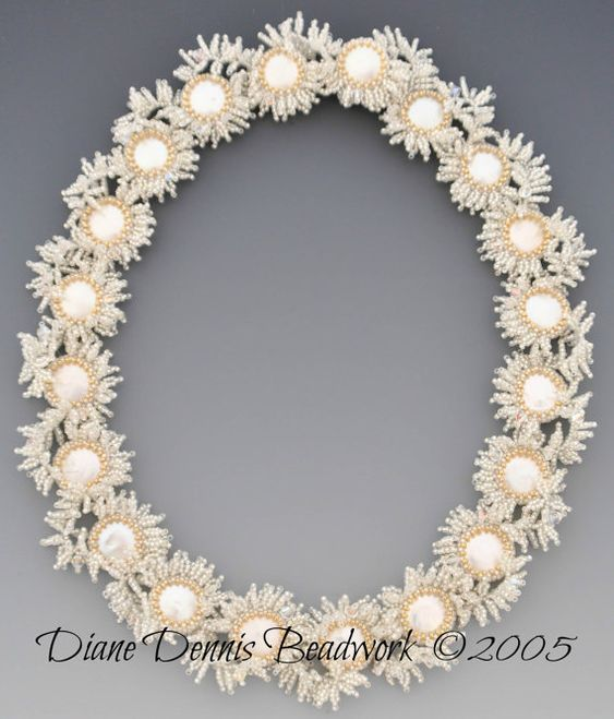 Instructions/Tutorial for Coin Pearl Garden Necklace