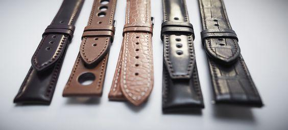 Maurice de Mauriac Straps. Maurice de Mauriac. http://mauricedemauriac.ch  watches, watch straps, straps for watches