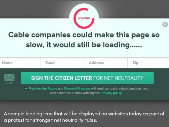 """How Are Your Visitors Engaging With Your Website?/////// In April, the FCC released proposed regulatory guidelines that sparked new fears among net neutrality proponents. The proposal includes language giving ISPs the option to create a """"fast lane"""" for """"select"""" websites.////// Are You kiddin' me!"""