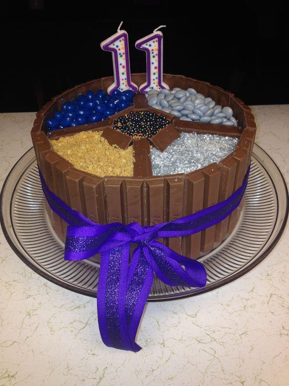 Divergent Kit Kat Cake