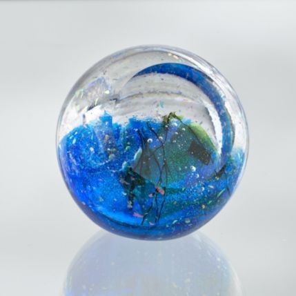 Neptune Paperweight, Glass Paperweight, Celestial Gifts