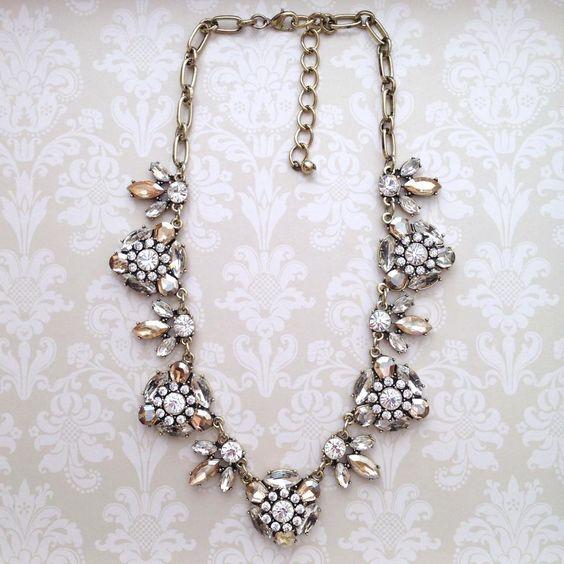 Crystal Bristol Necklace