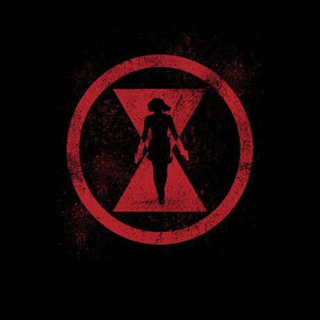 Black widow marvel avengers symbol - photo#4