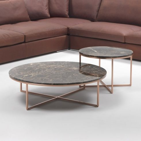 Porto Round Marble Coffee Table Marble Round Coffee Table