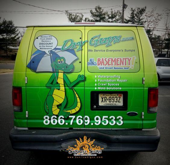 Contractor Van Graphics South Jersey