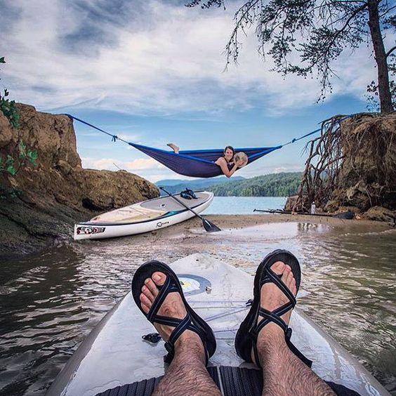 Just hangin' around Lake Jocassee...  by thelandmarkproject // yeahTHATgreenville