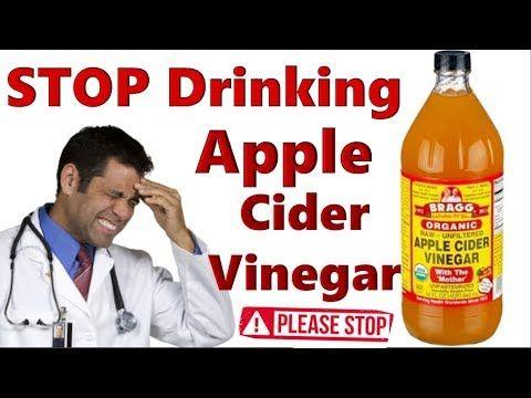 Stop Drinking Apple Cider Vinegar Side Effects Of Apple Sider