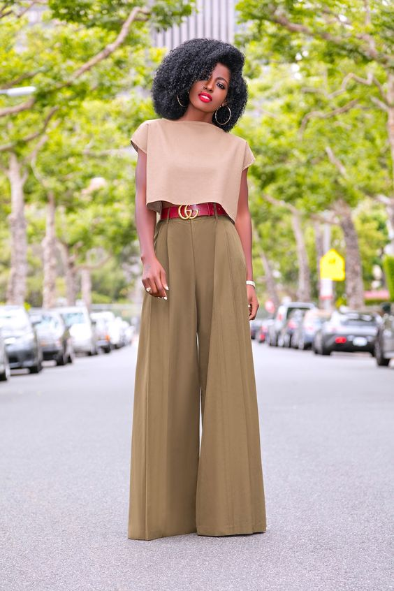 Pretty Wide Leg Pants