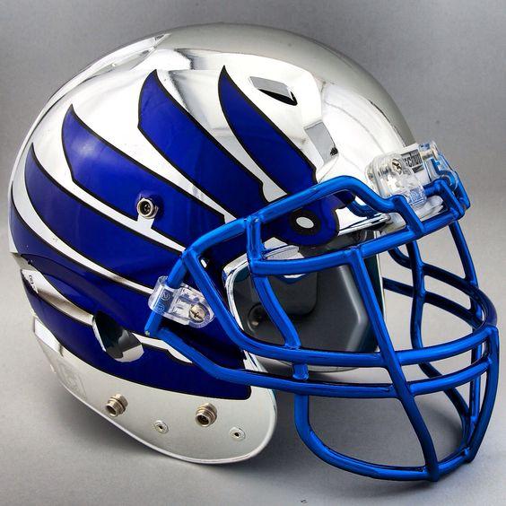 Football Helmet Sticker Designs : High schools wings and new chrome on pinterest