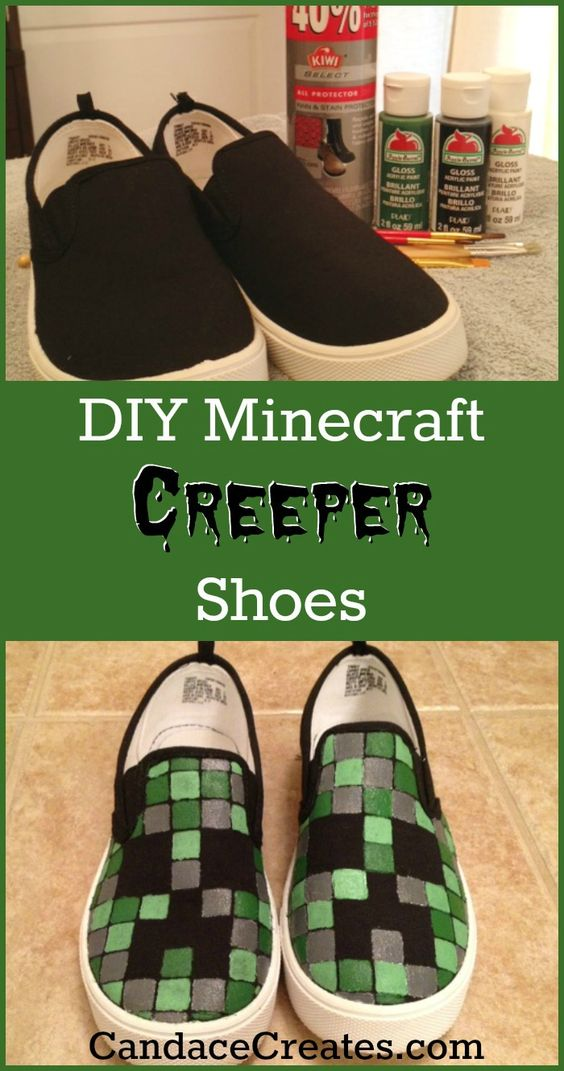 how to make shoes in minecraft