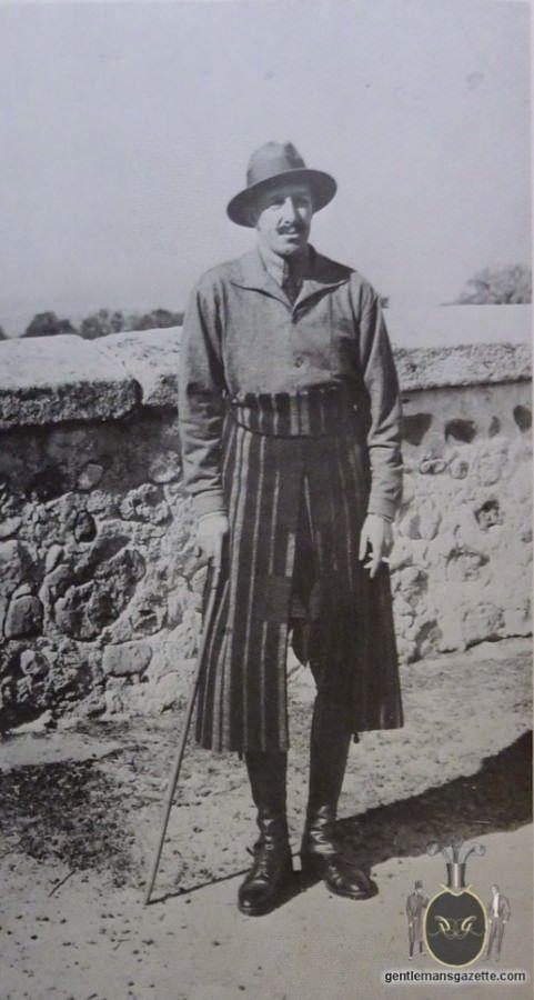 Le Roi Alphonse XIII - qui fit connaitre la veste Teba