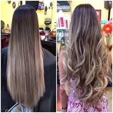 Image result for asian balayage long straight hair