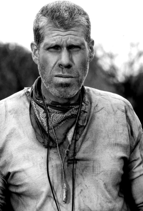 Ron Perlman is Super sexy. He isn't pretty but Sexy.