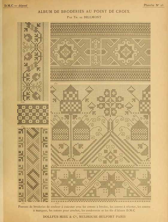 (5) Gallery.ru / Фото #10 - Album de Broderies au Point de Croix - shtushakutusha