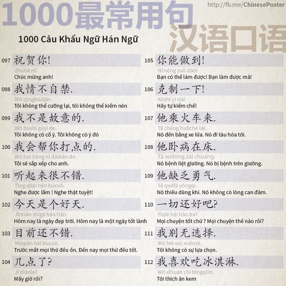1000 Chinese Sentences In Daily Life Part 7