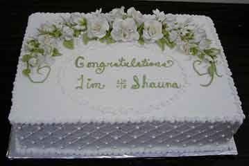Anniversary Sheet Cakes Wedding Cake Decorating Pinterest Anniversaries And