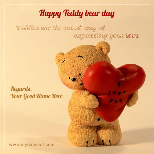 Happy Teddy Day Wishes For Lover In 2020 Teddy Day Happy Teddy