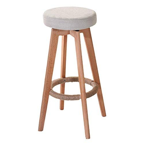 360 Degree Rotation Bar Stool Bar Chair Family Dining Leisure High