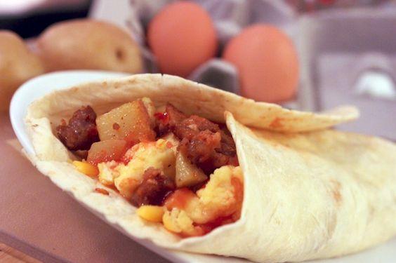 Ultimate Breakfast Burrito Recipe