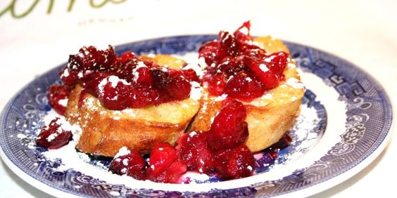 Cranberry Upside Down French Toast