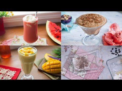 الذ الوصفات المثلجة لصيف منعش Youtube Food Pudding Desserts