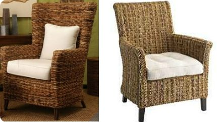 The Tamayo High Back Chair Is Made Of Hand Woven Fibers And Features A High B