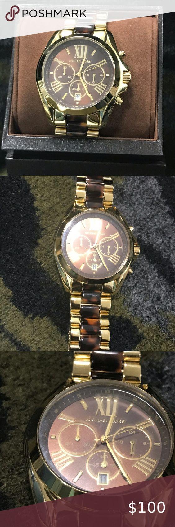 Michael Kors Ladies Tortoiseshell Watch in 2020   Tortoise