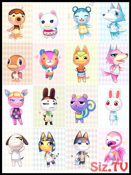 kawaii cutest animal crossing characters