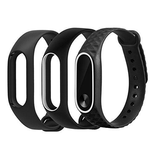 Yefod Xiaomi Mi Band 2 Bracelet De Remplacement Silicone Accessoire Sangle De Remplacement Bande Wristband Bracelet Pour Mi Band Accessoires Bracelet Silicone