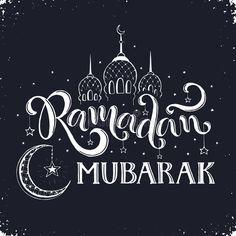 Ramadan Kareem Mubarak Ramadan Mubarak Hand Drawn Calligraphy On Chalkboard Is Aff Drawn Hand Chalkboard Ramadan Kareem Ramadan Greetings Ramadan