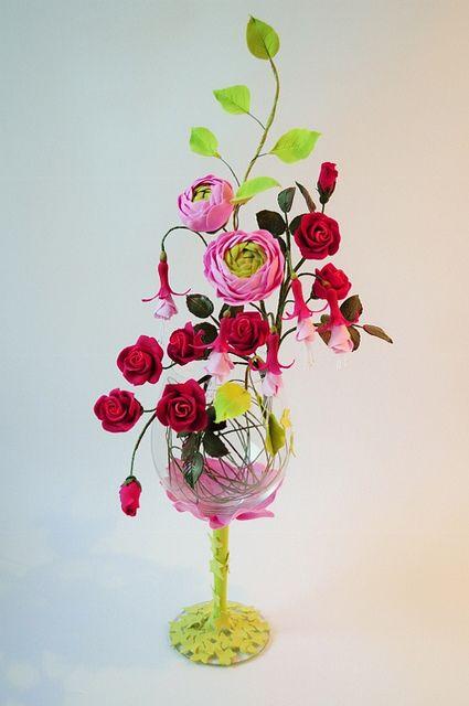 my flowers by eljaionina, via Flickr