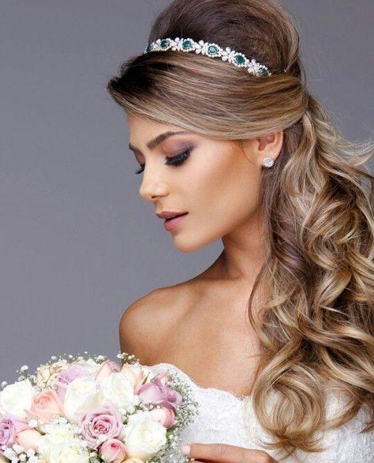 Penteado Para Festa Wedding Pinterest Hair Style And Weddings