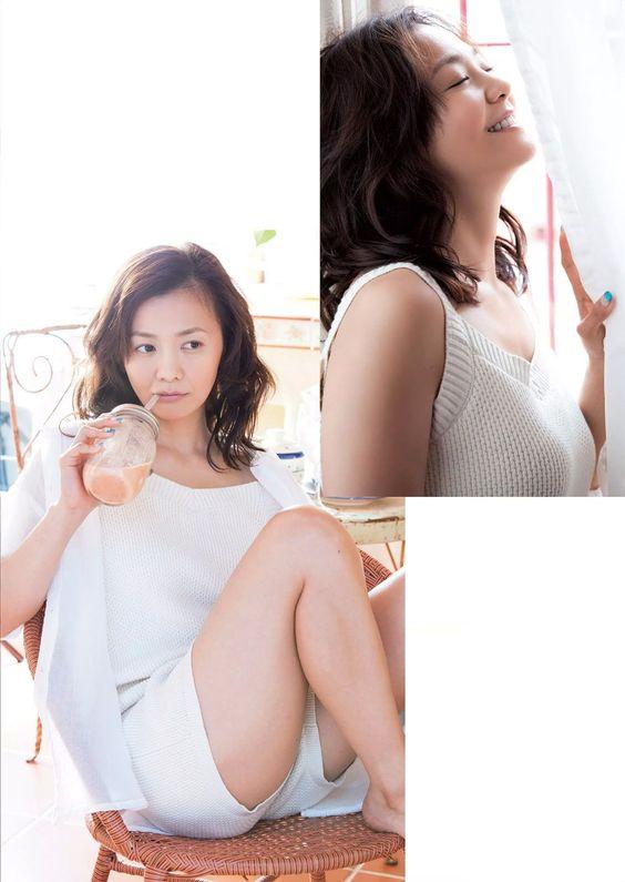 週刊プレイボーイ 2015-30, 華原朋美