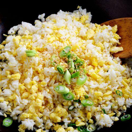 Resep Nasi Goreng Telur Korea Nasinya Dikocok Bareng Telur Dulu Sebelum Dimasak Unik Banget Resep Nasi Goreng Makanan Nasi Goreng Kimchi