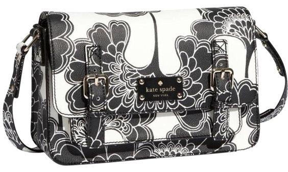 Kate Spade Scout Black/White Cross Body Bag. Get the trendiest Cross Body Bag of…