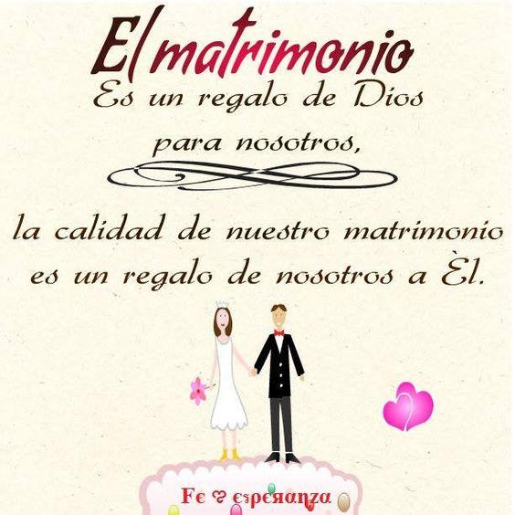 Imagenes De Matrimonio Catolico : El matrimonio es un don de dios a nosotros la calidad