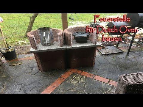 Feuerstelle Fur Den Dutch Oven Bauen Youtube In 2020 Dutch Oven Outdoor Kitchen Outdoor Decor