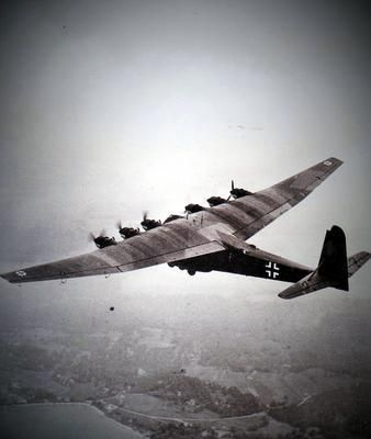 """The Messerschmitt Me 323 Gigant (""Giant"") was a German ..."